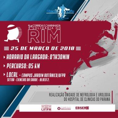1ª Corrida e Caminhada Solidária do Rim d085f99e91117